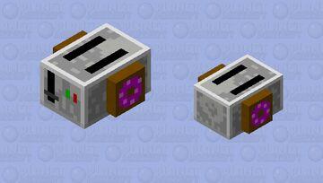 Breakfast Collection | Gray Llama Minecraft Mob Skin