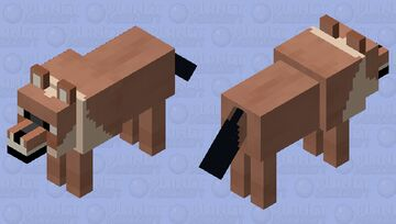 Dhole Minecraft Mob Skin