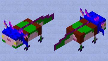 Neeko skin Axolotl Minecraft Mob Skin