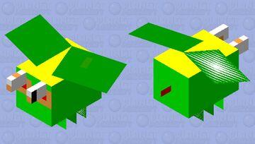 Dragon fly Minecraft Mob Skin