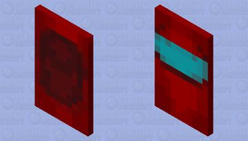 Sus Among Us Cape Minecraft Mob Skin