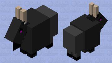 Evil Tabi fnf Minecraft Mob Skin
