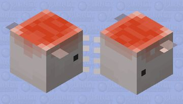 Squid (Large) Minecraft Mob Skin
