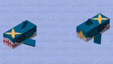 Sharpedo - Pokemon Dolphin Replacer Minecraft Mob Skin