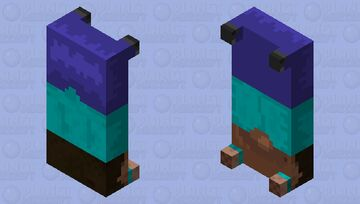 steve but he became one with the bed Minecraft Mob Skin