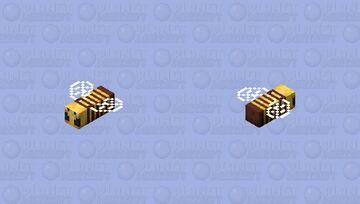 Boss bee ( queen bee v2 or looooooooooong bee v3 ) Minecraft Mob Skin