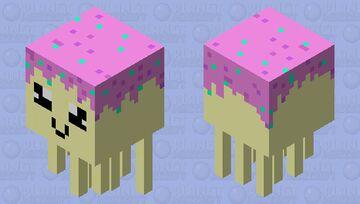Candy Ghast Minecraft Mob Skin