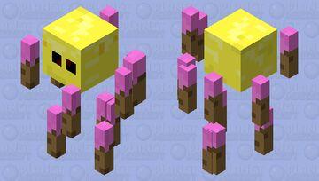 Sunny Blaze Minecraft Mob Skin