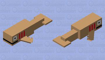 shin godzilla 1st form Minecraft Mob Skin