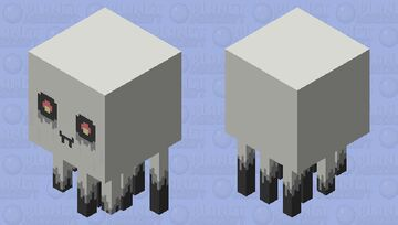 Ghast Thingy Minecraft Mob Skin