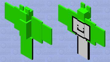 Dream Bat Skin Minecraft Mob Skin