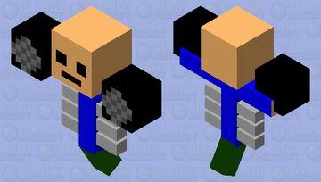 Pill Egg Tree raper Minecraft Mob Skin