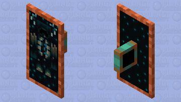 Warden Copper Sheild Minecraft Mob Skin