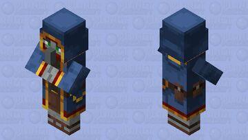 Illager Wandering Trader Minecraft Mob Skin