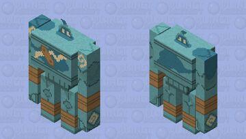 Golurk - Pokemon Iron Golem Replacer Minecraft Mob Skin