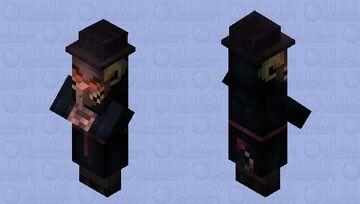 Satan incognito Minecraft Mob Skin