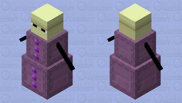 End Golem / Shulker Golem Minecraft Mob Skin