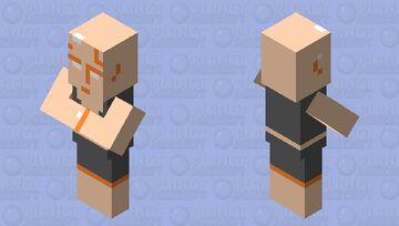 NES Villager Test 1 Minecraft Mob Skin