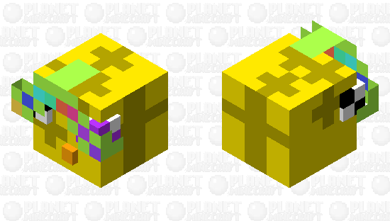 If Slimes Made ThemSelves Minecraft Skin