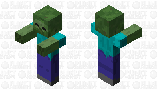 Zombie (Zombie Pigman Mob Skin) Minecraft Skin
