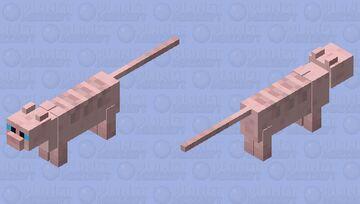 Sphynx Cat Minecraft Mob Skin