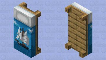 Ship Bed Minecraft Mob Skin
