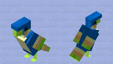 Blue Loftwing- Skyward Sword Parrot Minecraft Mob Skin