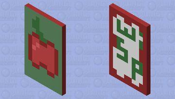 Apple Cape Minecraft Mob Skin