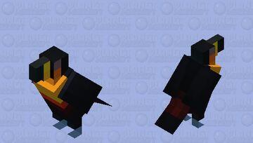 Tucano-de-bico-preto (Ramphastos vitellinus ariel) Vanilla Minecraft Mob Skin