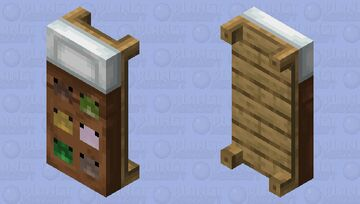 Toad Bed Minecraft Mob Skin