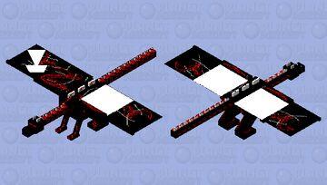 Dragon of Lava Minecraft Mob Skin