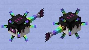 Guardian Rain Fade Minecraft Mob Skin
