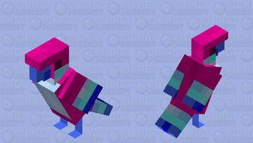 Pink Loftwing- Skyward Sword Parrot Minecraft Mob Skin