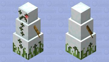 Whiter snow boss Minecraft Mob Skin