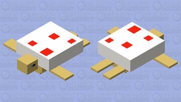 cake turtle Minecraft Mob Skin