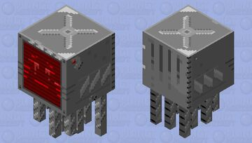 Steel Patrol Ghast Minecraft Mob Skin