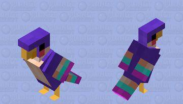 Zelda's Loftwing- Skyward Sword Parrot Minecraft Mob Skin