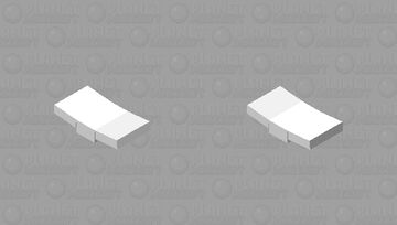 Flying paper Minecraft Mob Skin