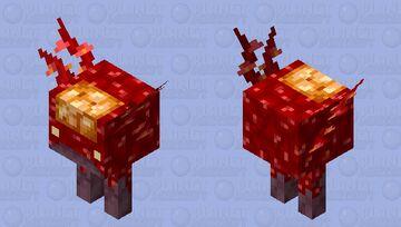 Crimson Strider Minecraft Mob Skin