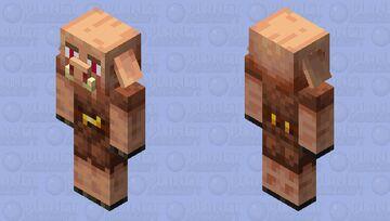 cursed piglin Minecraft Mob Skin