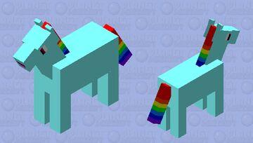 My Rainbow Dash Skin Minecraft Mob Skin