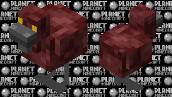 Nether Chicken Minecraft Skin