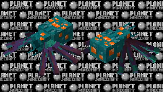 Spider of WarpedForest Minecraft Skin