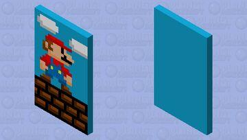 Mario cape Minecraft Mob Skin