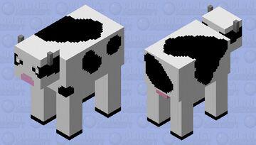 Cow Retextured HD Minecraft Mob Skin