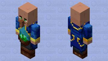 The Support/Healer Villager (Remade) Minecraft Mob Skin
