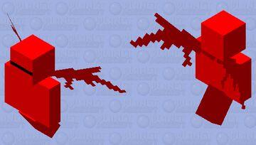 спецназ предателей (с крыльями) Minecraft Mob Skin