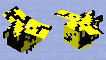 Abstract bee Minecraft Mob Skin