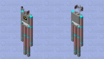 Terminator Siren Head Minecraft Mob Skin