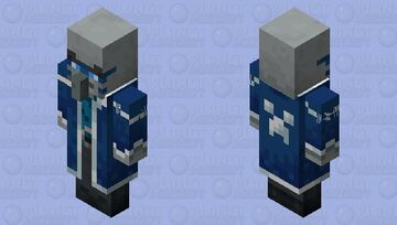 The Iceologer/Chillager (Retexture) (No Illusioner Style) Minecraft Mob Skin